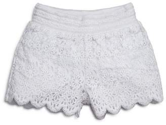 Design History Girls' Lace Shorts - Little Kid