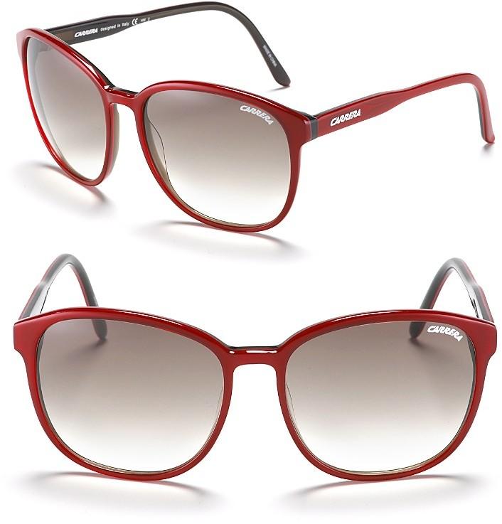 Carrera Retro Oversized Sunglasses