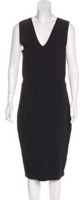 A.L.C. Sleeveless Bodycon Midi Dress