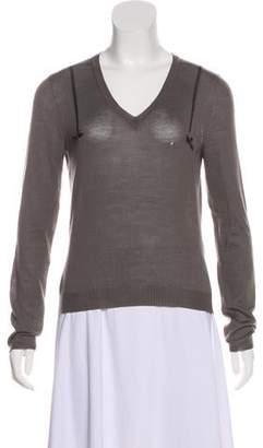 John Galliano Wool Lightweight Sweater