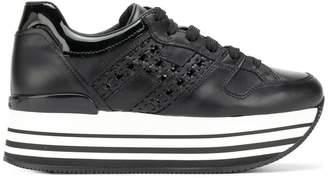Hogan platform style sneakers