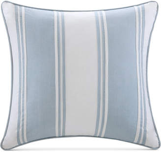 "Harbor House Crystal Beach 18"" Square Pieced Decorative Pillow"