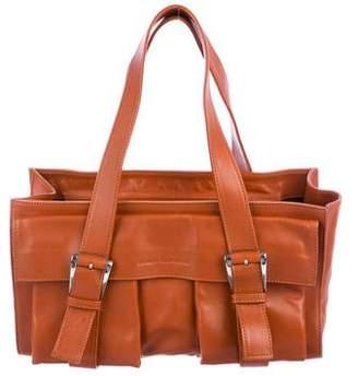 Robert Clergerie Leather Shoulder Bag