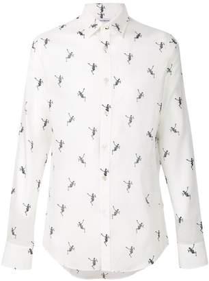 Alexander McQueen Funny Bones shirt