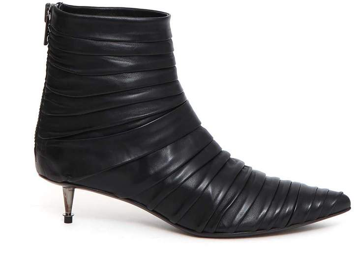 Tom Ford Draped Leather Booties