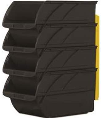 Stanley 057304R - 4 Pack Storage Bins with Wall Hangers #3