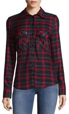 Zadig & Voltaire Plaid Button-Down Shirt