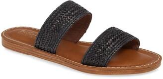 Bella Vita Two-Strap Slide Sandal