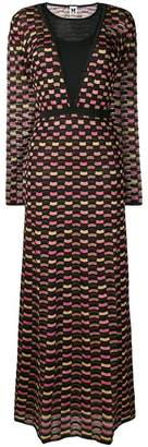 M Missoni long patterned dress
