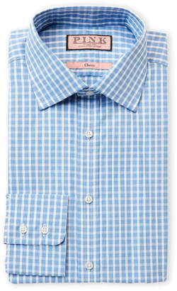 Thomas Pink Classic-Fit Maynard Check Long Sleeve Dress Shirt
