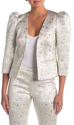 Trina Turk Carrington Metallic Blazer