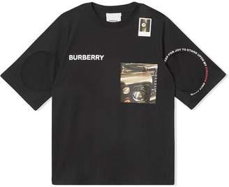 Burberry montage print T-shirt