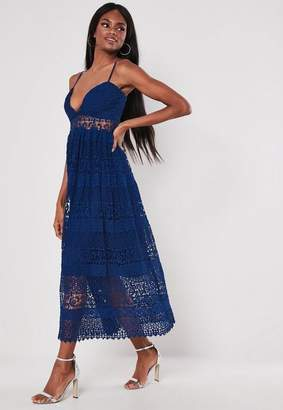 e93004675157 Missguided Lace Midi Dresses - ShopStyle