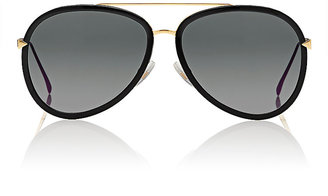 Fendi Women's Aviator Sunglasses $480 thestylecure.com