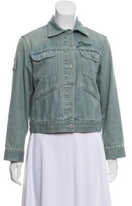 Etoile Isabel Marant Appliqué Denim Jacket