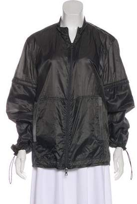 Prada Sport Long Sleeve Zip-Up Jacket