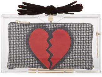 Charlotte Olympia Pandora's Broken Heart Box Clutch