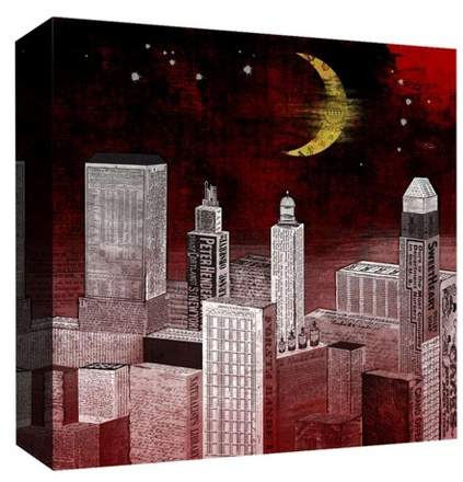 Yellow Moon Decorative Canvas Wall Art 16
