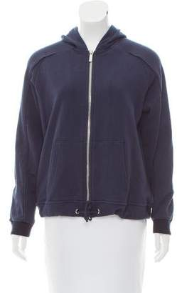 Zoe Karssen Hooded Zip-Up Sweatshirt w/ Tags