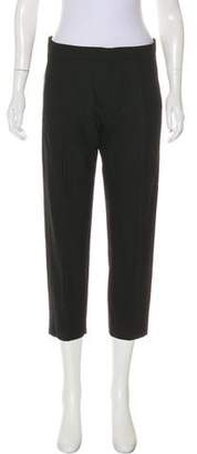 Helmut Lang Mid-Rise Cropped Pants