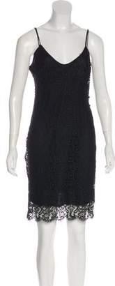 L'Agence Sleeveless Lace Dress