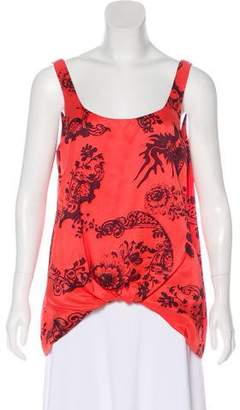 Elizabeth and James Silk Sleeveless Top w/ Tags