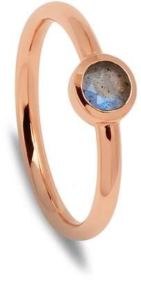 Lola Rose London - Curio Stud Stacker Ring Labradorite