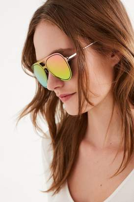 Urban Outfitters Over The Rainbow Aviator Sunglasses