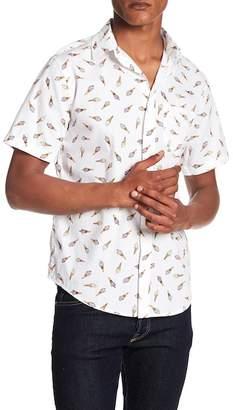 Public Opinion Short Sleeve Ice Cream Print Regular Fit Shirt