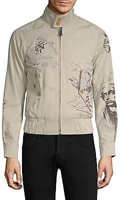 Burberry Men's Shrunken Harrington Jacket