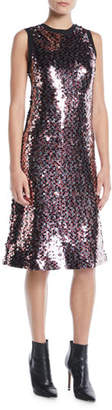 McQ Sleeveless Sequin Tank Dress