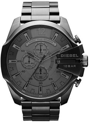 Diesel Men's Black Mega Chief Watch