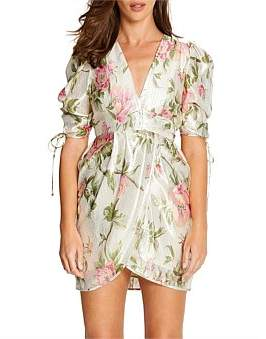Alice McCall Salvatore Cap Sl Mini Dress