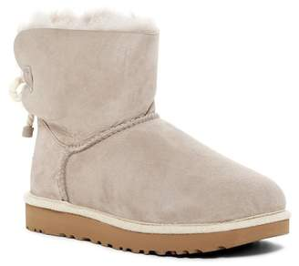 UGG Selene Genuine Lamb Fur Lined Boot