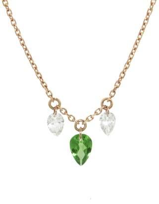 Raphaele Canot Set Free Tsavorite and Diamond Necklace