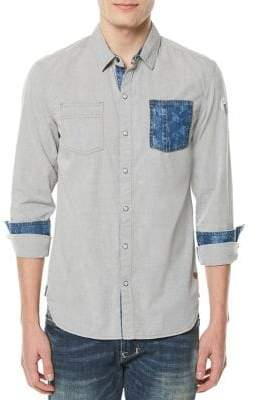 Buffalo David Bitton Soje Cotton Sport Shirt