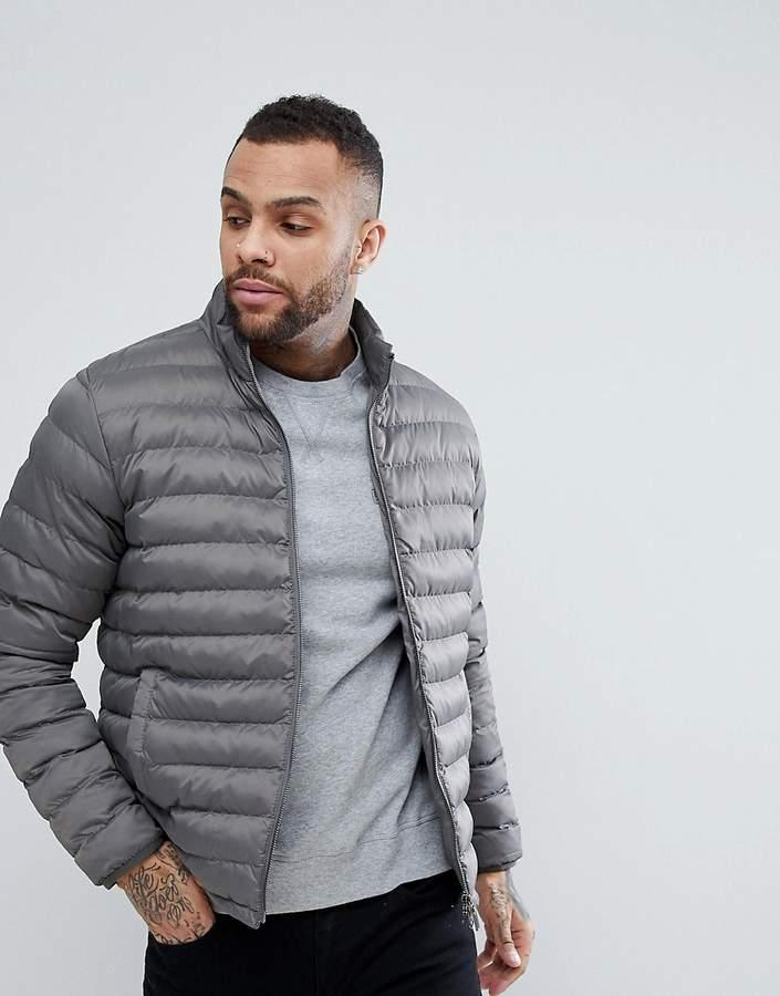 Barbour International Barbour – International Impeller – Wattierte Jacke in Grau