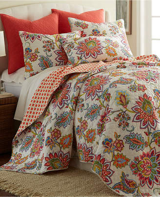 Levtex Home Palladium Coral Full/Queen Quilt Set Bedding