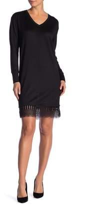 Joe Fresh Lace Hem Dress