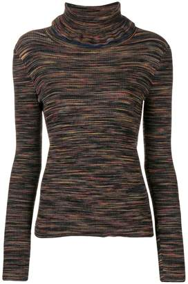 See by Chloe turtle-neck ruffle sweater