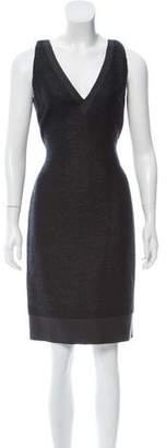 Fendi Sleeveless Knee-Length Dress