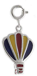 QVC Sterling Hot Air Balloon Charm with Enamel