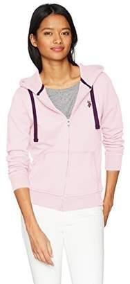 U.S. Polo Assn. Women's Fleece Zip up Hoodie