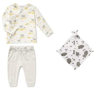 Angel Dear Tee, Pants & Blankie Set