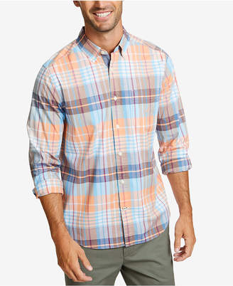 Nautica Men Big & Tall Plaid Shirt