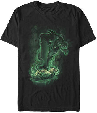 Disney Men The Lion King Be Prepared for Trouble Short Sleeve T-Shirt