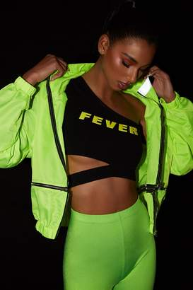 Forever 21 Fever Graphic Crop Top