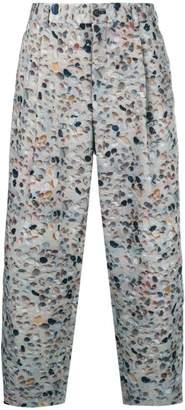 Comme des Garcons pebble printed trousers