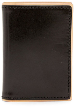 J-Fold Two-Tone Folding Leather Card Case $78 thestylecure.com