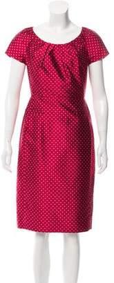 Christian Dior Silk Sheath Dress